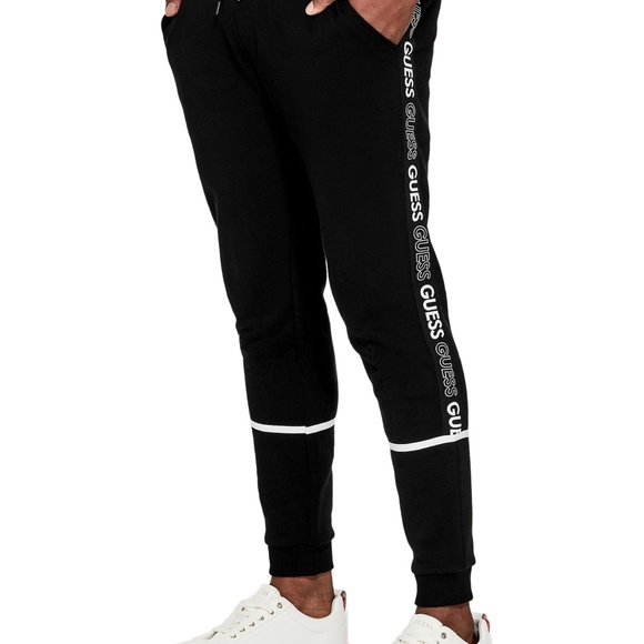 Guess Other - 🍄   GUESS  AXEL LOGO JOGGERS